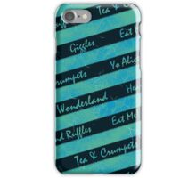 March Hare Scarf iPhone Case/Skin
