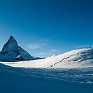 blue matterhorn by peterwey