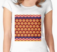 wayuu patern warm Women's Fitted Scoop T-Shirt