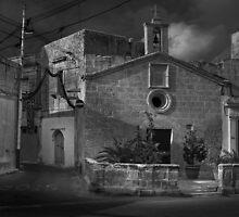 St Roque Wayside Chapel Zebbug Malta by Edwin  Catania