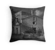 St Roque Wayside Chapel Zebbug Malta Throw Pillow