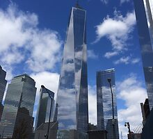 Freedom Tower, NYC by Lagoldberg28