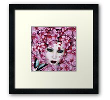 Madame Butterfly  Framed Print