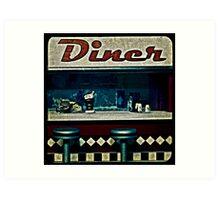 Ttv: Diner Art Print
