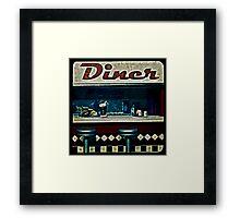Ttv: Diner Framed Print