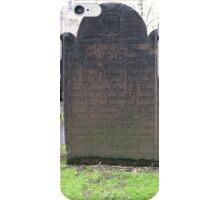 Trinity Church Cemetery, NYC iPhone Case/Skin
