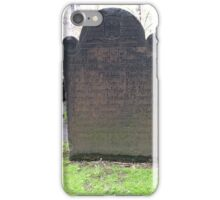 Trinity Church Cemetery, NYC iPhone Case/Skin