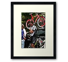 Mario Cipollini Framed Print