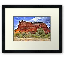 Courthouse Rock, Sedona Framed Print