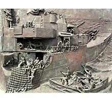 National Destroyer Memorial, Chatham, UK Photographic Print