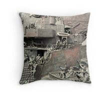 National Destroyer Memorial, Chatham, UK Throw Pillow