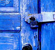 Blue Door by DesignsByDeb