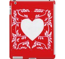 Valentine Heart Red iPad Case/Skin