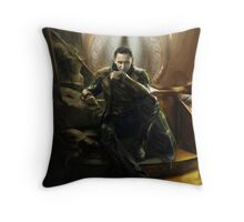 A Wise King Throw Pillow
