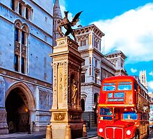 Timeless London - Routemaster Double Decker Bus by Mark Tisdale