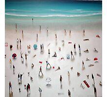 beach yoga Photographic Print