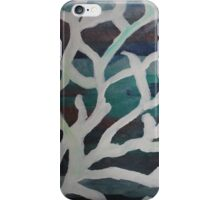 White Washed Coral iPhone Case/Skin