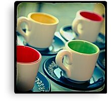 Ttv: 4 Cups Canvas Print