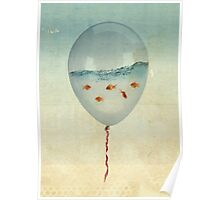ballon fish Poster