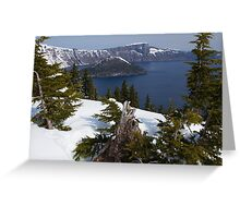Crater Lake, Oregon Greeting Card