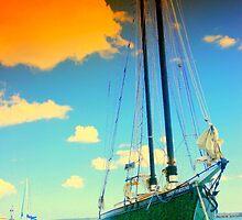 Orange Cloud Sail by rtographsbyrolf