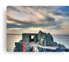 Bunker on a Headland - Alderney Canvas Print