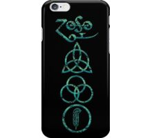EXTREME DISTRESSED TRIQUETRA - under the sea V iPhone Case/Skin