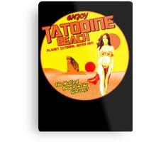 Tatooine Beach Metal Print