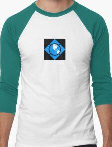 World of Tech Black Men's Baseball ¾ T-Shirt