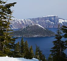Crater Lake, Oregon by Anna Calvert