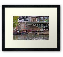 Bridge Mooring Framed Print