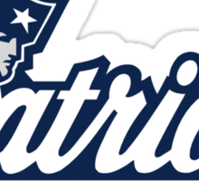 new england patriots logo Sticker