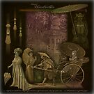 Umbrella... or meeting of the cultures in Meiji era. by egold