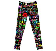 Heroes of the BBC micro (wraparound print) Leggings