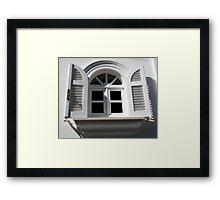 The Beauty Of White Framed Print