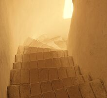 Stairway to the light by Yevgen Pogoryelov
