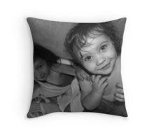 Big Sister Little Sister Throw Pillow