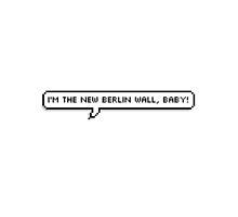 Berlin Wall by blushingblainey