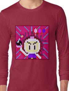 Pixel Bomberman Long Sleeve T-Shirt
