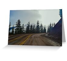 Hurricane Ridge, Olympic National Park, Clallam County, Washington, USA Greeting Card
