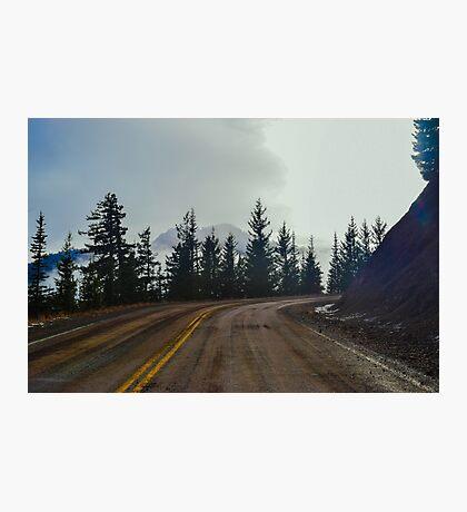 Hurricane Ridge Road, Olympic National Park, Washington Photographic Print