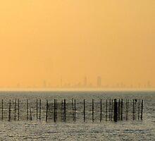 Manhattan by the Gulf by Hélène David-Cuny