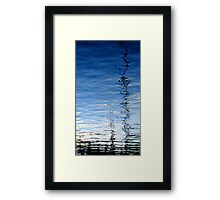 Drunk with water Framed Print