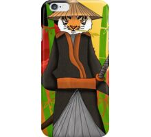 Tiger Samurai iPhone Case/Skin