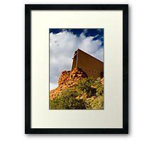 Sedona, Church on the Hill Framed Print