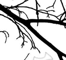 Winter Branches Sticker