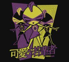 Punk Mascot Stencil Baby Tee