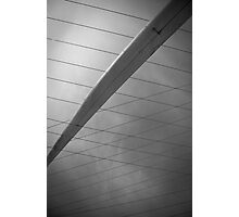 Crossed cables Photographic Print