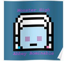 8-Bit Abbey Bominable Poster
