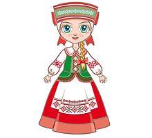 белорусская девушка by ZoyaMiller